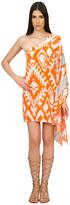 Caffe Swimwear - One Shoulder Short Dress In Orange VP1556TSCEST