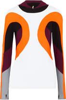 NO KA 'OI No Ka'Oi Nua Color-block Stretch Hooded Top