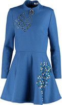 J.W.Anderson Embellished wool-felt mini dress