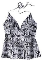 Converse One Star® Women's Printed Tankini Top - Black