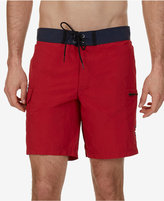 "Nautica Men's Quick Dry Cargo Pocket 8 1/2"" Swim Trunks"