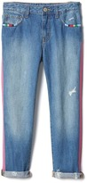Gap 1969 Embellished Girlfriend Ankle Jeans