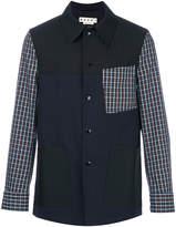 Marni checkered detail jacket