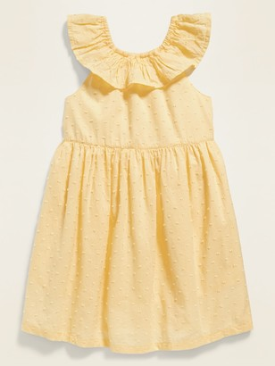 Old Navy Swiss Dot Bow-Back Fit & Flare Sundress for Toddler Girls