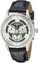 Jorg Gray Men's JG6600-24 Analog Display Quartz Black Watch
