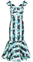 Johanna Ortiz Belice printed cotton sateen dress