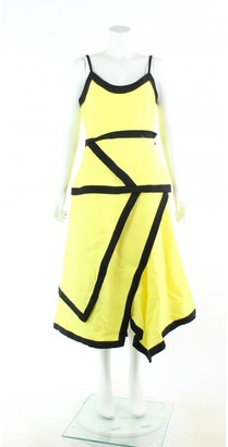 J.W.Anderson Yellow Linen Dresses
