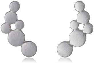 Pilgrim Leah Silver Plated Earrings