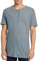 Theory Arlee Featherweight Jersey Henley Tee