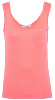 George Neon Textured Pocket Vest Top