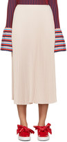 Cédric Charlier Pink Pleated Skirt