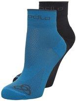 Odlo Basic 2 Pack   Sports Socks Graphite Grey/blue Jewel