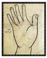 Soicher Marin Asian Hand (Framed Giclee)