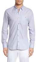 Ted Baker Men's Longmee Regular Fit Geo Print Sport Shirt