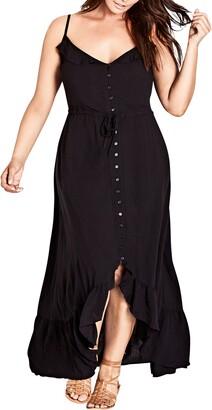 City Chic Aruba Maxi Dress