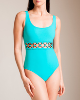 Karla Colletto Rings U-Wire Tank Swimsuit
