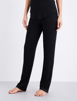 I.D. Sarrieri Café Créme stretch-jersey pyjama bottoms