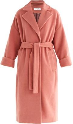 Paisie Maple Wool Blend Coat In Pink