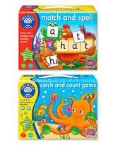 Fashion World Pack of 2 Spelling & Counting Games
