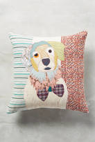 Carola Van Dyke Patchwork Pup Pillow