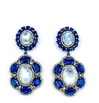 Arthur Marder Fine Jewelry 3.00 Ct. Tw. Diamond & Gemstone Earrings