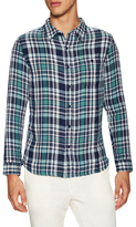 Velvet by Graham & Spencer Channing Printed Sportshirt