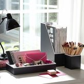 STUDY Printed Desk Accessories - Solid Black