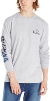 Quiksilver Men's 3 Dee Long Sleeve T-Shirt