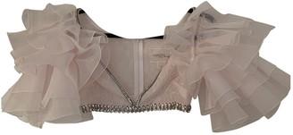 Giambattista Valli X H&m Pink Lace Top for Women
