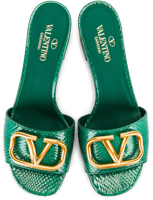 Valentino VLogo Slides in Jungle | FWRD