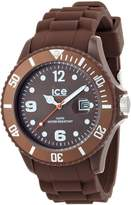 Ice Watch Ice-Watch Men's Chocolate Milk CT.MC.B.S.10 Silicone Quartz Watch with Dial