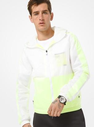 Michael Kors KORS X TECH Nylon Hooded Jacket