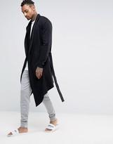 Asos Loungewear Robe In Black