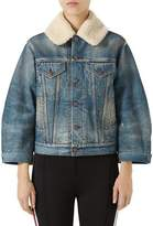 Gucci Stone-Washed Denim Jacket