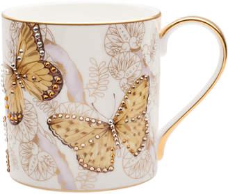 N. Butterfly Jeweled Mug