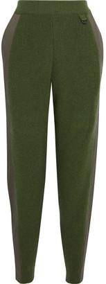 Stella McCartney Twill-trimmed Wool Tapered Pants