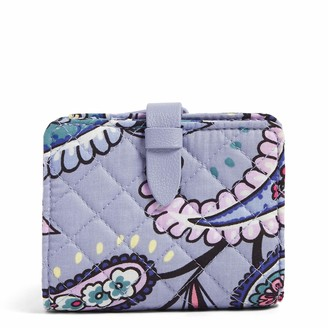Vera Bradley Signature Cotton Small Wallet with RFID Protection