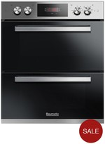 Baumatic BODM754X Built Under Double Oven - Stainless Steel