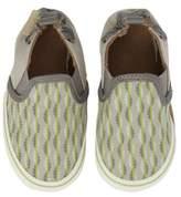 Robeez R) Liam Tropical Print Crib Shoe