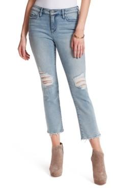 Jessica Simpson Arrow Straight-Leg Ankle Jeans