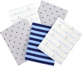 Gerber 5-pk. Patterned Flannel Receiving Blankets