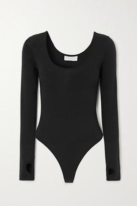 CALÉ Lena Stretch-jersey Bodysuit - Black