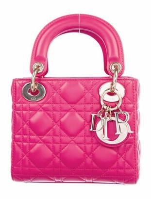 Christian Dior Mini Lady Bag gold