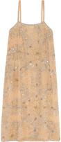 Ashish Embellished Crepe Dress - small
