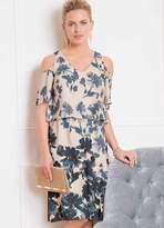 Together Layered Print Dress