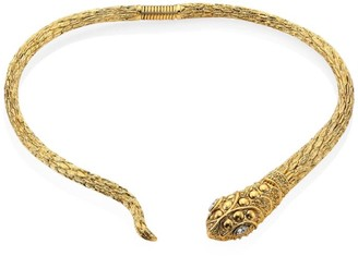 Kenneth Jay Lane Snake Collar Necklace