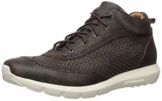 Marc Joseph New York Men's Genuine Leather Extra Lightweight Woven Ankle Boot Wingtip