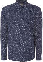 Linea Fernand Spot Print Shirt
