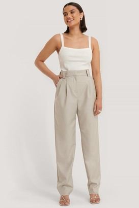 Manon Tilstra X NA-KD Loose Fit Suit Pants