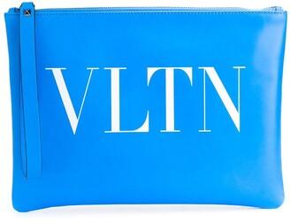 Valentino VLTN print clutch